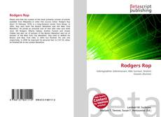 Bookcover of Rodgers Rop