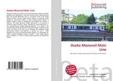 Osaka Monorail Main Line kitap kapağı