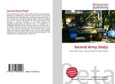 Couverture de Second Army (Italy)