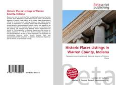 Couverture de Historic Places Listings in Warren County, Indiana