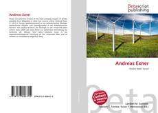 Andreas Exner kitap kapağı