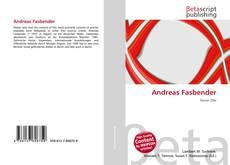 Couverture de Andreas Fasbender