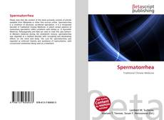 Обложка Spermatorrhea
