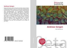 Couverture de Andreas Gergen