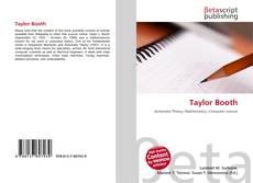 Couverture de Taylor Booth