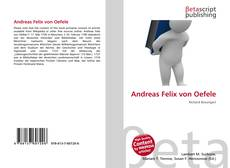 Andreas Felix von Oefele的封面