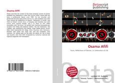 Bookcover of Osama Afifi