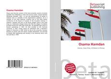 Bookcover of Osama Hamdan