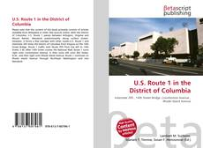 Couverture de U.S. Route 1 in the District of Columbia