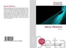 Bookcover of Sperry, Oklahoma