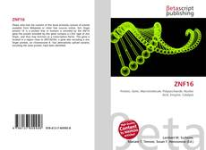 Bookcover of ZNF16