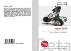 Buchcover von Taylor Firth