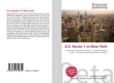 Bookcover of U.S. Route 1 in New York
