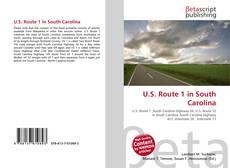 Bookcover of U.S. Route 1 in South Carolina
