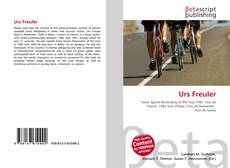 Bookcover of Urs Freuler
