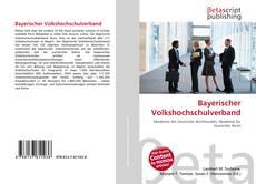 Couverture de Bayerischer Volkshochschulverband