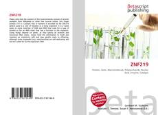 Bookcover of ZNF219