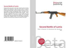 Bookcover of Second Battle of Lamia