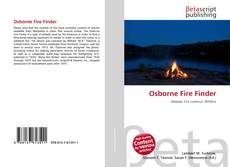 Bookcover of Osborne Fire Finder