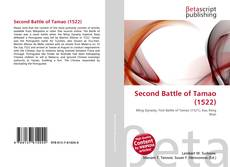 Bookcover of Second Battle of Tamao (1522)