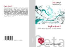 Borítókép a  Taylor Branch - hoz