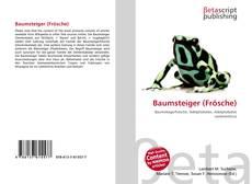 Buchcover von Baumsteiger (Frösche)