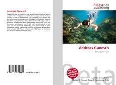 Buchcover von Andreas Gunesch