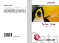 Portada del libro de Andreas Helbig