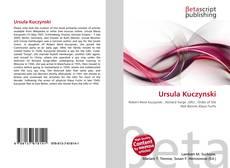 Copertina di Ursula Kuczynski
