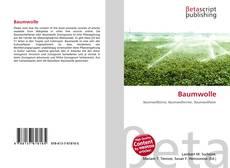 Buchcover von Baumwolle
