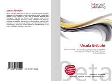 Bookcover of Ursula Niebuhr