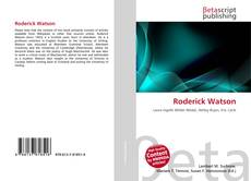 Bookcover of Roderick Watson