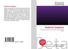 Bookcover of Roderick Stephens