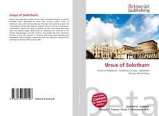 Ursus of Solothurn kitap kapağı
