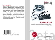 Bookcover of Urszula Rosen