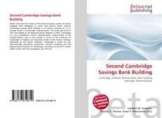 Bookcover of Second Cambridge Savings Bank Building