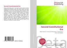 Bookcover of Second Constitutional Era
