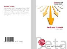 Bookcover of Andreas Kossert