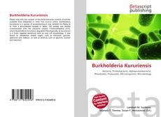 Burkholderia Kururiensis kitap kapağı