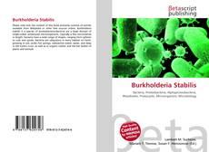 Обложка Burkholderia Stabilis
