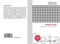 Buchcover von Andreas Köll
