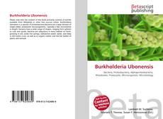 Обложка Burkholderia Ubonensis