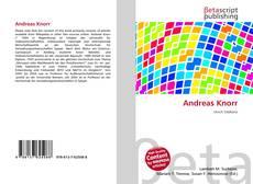 Capa do livro de Andreas Knorr