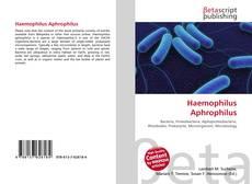 Обложка Haemophilus Aphrophilus