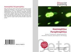 Обложка Haemophilus Paraphrophilus