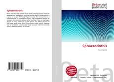 Bookcover of Sphaerodothis