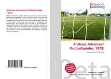 Andreas Johansson (Fußballspieler, 1978)的封面