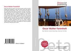Buchcover von Oscar Walter Farenholt