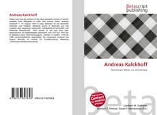 Capa do livro de Andreas Kalckhoff