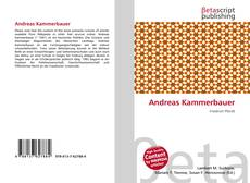 Bookcover of Andreas Kammerbauer